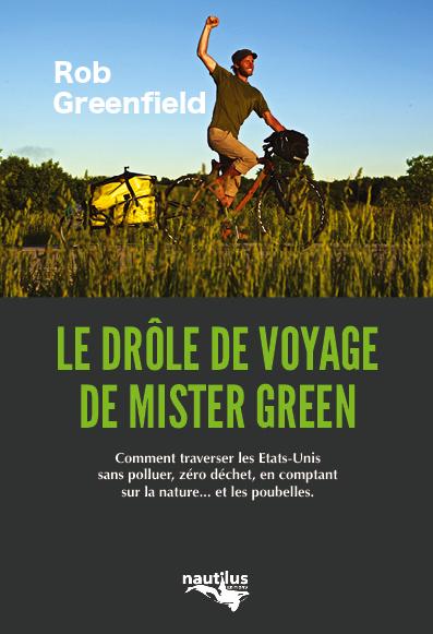 Couverture du Drôle de voyage de Mister Green, éditions Nautilus